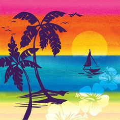 Creative Converting 16 Count Lunch Napkins Luau Aloha Summer Sunset ** Learn more by visiting the image link. (This is an affiliate link) Luau Party Supplies, Luau Theme Party, Hawaiian Luau Party, Birthday Supplies, Party Themes, Party Ideas, Hawaiian Sunset, Tiki Party, Tropical Party