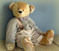 *Beau isn't a perfume bear ,he's a BorderBear,  he's a care taker for the perfume bears