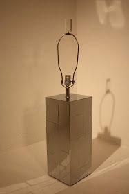 "Space. 20th Century Modern: Paul Evans ""cityscape"" lamp. 950."
