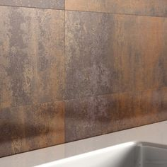 REALLY like this look too - Copper Tiles