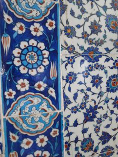 I'll share various Iznik tiles I've run across in Istanbul..