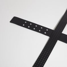 The BÄLTER leather belt in black