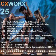 CXWORX 25 tracklist