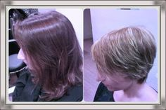 Cambio de look! Corte, color y mechas