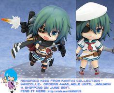 Nendoroid Kiso from Kantai Collection -KanColle-   #rinkya #japan #fromjapan #nendoroid #kancolle
