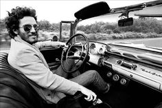 Bruce Springsteen & Chevy Bel Air, 1957