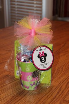 Mickey Mouse Clubhouse Party Favor (for the girls)