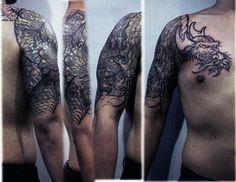 #강남타투 #커버업 #타투 #이레즈미 #자이언트잉크 #coverup #tattoo #wabori #progressing #korea #irezumi