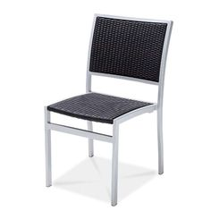 "MEDITERRANEAN Dining Side Chair  AC5602N01RAT Width: 18 3/4"" Depth: 22 7/8"" Height: 33 1/2″ Seat Height: 17 3/4""  Wicker: 7137 Weaving Style No.04 Finish: Powder Coated 90854"