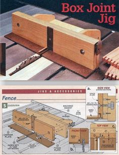 Box Joint Jig Plans - Joinery Tips, Jigs and Techniques | WoodArchivist.com