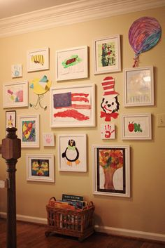 Great way to display artwork!