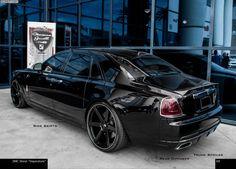 DMC Luxury Rolls-Royce Ghost: Imperatore-Tuning für mehr Dynamik