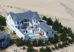 Possible wedding location.  Twiddy Outer Banks Vacation Home - The Dream - 4x4 - Oceanfront - 18 Bedrooms