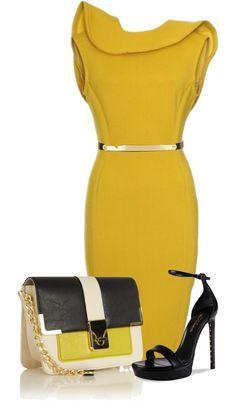 """""""Mustard"""" by stylisheve on Polyvore"""