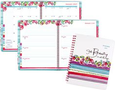2017 Weekly/Monthly Planner 2017 Planner, Weekly Monthly Planner, At A Glance, Getting Organized, All Things, Calendar, Bullet Journal, Scrapbook, How To Plan