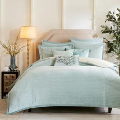 Shop for Hampton Hill Impressions Aqua Comforter Set. Get free delivery On EVERYTHING* Overstock - Your Online Fashion Bedding Store! Aqua Comforter, Teen Bedding, Queen Comforter Sets, Duvet Sets, Furniture Companies, The Hamptons, Comforters, Home, Bed Room