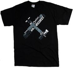 From Alpha to Zulu and everything in between, this unique t-shirt uses the entire ICAO Phonetic Alphabet to form an airplane. Super cool, if we do say so ourselves!