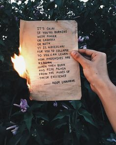 — burn and rise // poetry at unexpected places pt. 38 by noor unnahar  // words quotes inspiring self love empowerment writers of color pakistani artist, tumblr hipsters aesthetics indie grunge dark floral photography aesthetic instagram teens ideas inspiration //