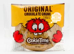 new cookie time packaging rebrand