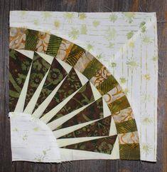 New York Beauty Quilt Block Paper Piecing Pattern Block 10 Hexagon Pattern, Pattern Blocks, Paper Piecing Patterns, Quilt Patterns, Quilting Projects, Quilting Designs, New York Beauty, Paper Quilt, Foundation Paper Piecing