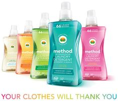 Method releases the first 100% post-consumer recycled PET #plastic #packaging for liquid laundry detergent.