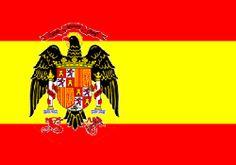 De 1977 a 1981: Bandera de España.