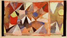 Paul Klee - Berglandschaft, 1918