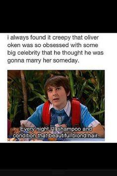 Oh Oliver; Hannah Montana memories