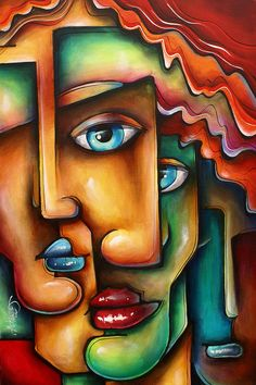 ' Mixed Emotions ' Painting by Michael Lang - ' Mixed Emotions ' Fine Art Prints and Posters for Sale