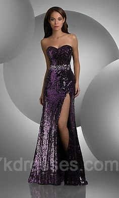 prom dress, shiny!