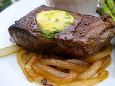 Delicious Steak and Onions - Lacey Cakes