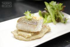 Lomos de bacalao con setas al aroma de trufa - http://www.thermorecetas.com/lomos-bacalao-setas-al-aroma-trufa/