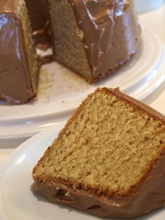 Peanut Butter Pound Cake - This recipe produces a dense, not too sweet, pound cake that packs plenty of peanut butter flavor. It is also rich and moist