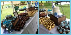 another picture of cupcake display, courtesy of Classygirl Cupcakes,