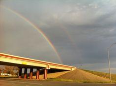 ETX Thanksgiving Double Rainbow