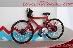 Gumpaste Bicycle Tutorial