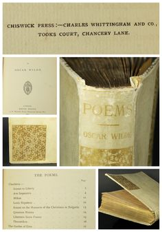 This 1881, Poems of Oscar Wilde, first edition, is just one of the first 250 printed copies of this poetry collection. A rare and unique find indeed! Auction ends March 27 at 6:00 p.m. MT.