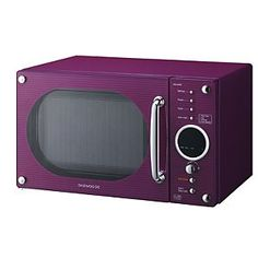 I must have this microwave to match my purple toaster and coffee maker!
