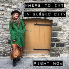 Where to Eat in Québec City Right Now! on http://wanderlustandlipstick.com/blogs/wanderingartist
