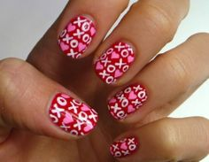 9 Best Kiss Nail Art Designs with Pictures | Styles At Life