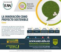 Inscríbete al curso #Innovación como Proyecto Sostenible, con #EANL3
