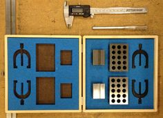 Laser Cut Foam Inserts for Tool Boxes #organization #storage #workshop