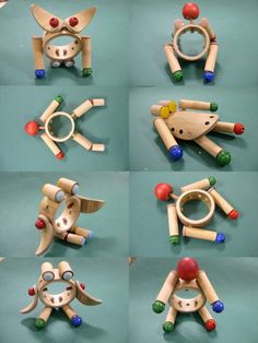 toys in bamboo by Ritu Sonalika , via Behance