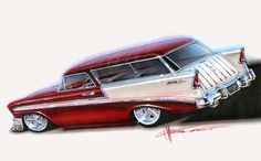 Chevy Nomad,  Chip Foose, Foose Design
