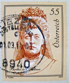 Stamp from Austria! Austria, Old Stamps, Postage Stamp Art, Going Postal, Nobel Peace Prize, Stamp Collecting, Mail Art, My Stamp, Vivid Colors