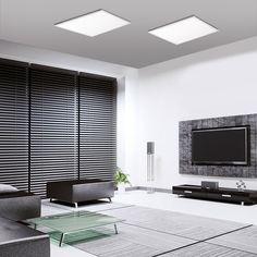 SKAPETZE -    Q-Flag LED Deckenleuchte + Fb. / 46W / 2700-5000K / Weiss Innenleuchten Deckenleuchten