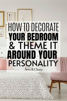 Tips on how to decorate your bedroom to reflect your personality on a budget! bedroom makeover on a budget | bedroom makeover master | bedroom makeover DIY | bedroom makeover small | bedroom makeover ideas | bedroom makeover cozy | bedroom makeover cheap | bedroom makeover | bedroom makeover inexpensive | bedroom makeover inspiration | bedroom makeover gray | bedroom makeover apartment | bedroom makeover boho | bedroom makeover decor #bedroomdecorating #bedroomdecor Bedroom Ideas For Small Rooms Diy, Small Space Bedroom, Small Master Bedroom, Gray Bedroom, Home Decor Furniture, Furniture Makeover, Diy Home Decor, Budget Bedroom, Bedroom Themes