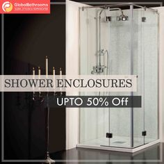 Get the wide range of shower enclosures from Global Bathroom UK.  Up to 50% off.  To buy visit - https://goo.gl/Ksq2Y4  #bathroomdecor #accessories #showerenclosures #onlineshopping #bestoffers