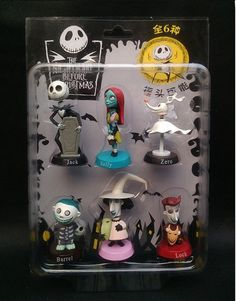Nightmare Before Christmas CAKE TOPPER Jack by BiancasBoutiqueBows