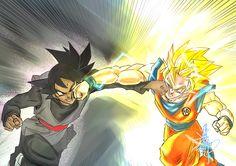 Black Goku vs Son Goku #Dragon Ball Super capitulo 50 Artista: 楊政諭 Jimmy